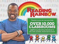 Bring Reading Rainbow Back for Every Child, Everywhere! by LeVar Burton & Reading Rainbow — Kickstarter