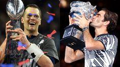 Roger Federer Sees Potential Doubles Partner In Tom Brady At Met Gala