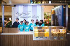 The new Garrett Popcorn Shop at Changi Airport Terminal 2