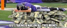 Joe Flacco | NFL Memes, Sports Memes, Funny Memes, Football Memes, NFL Humor, Funny Sports