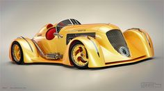 Duesenberg Meteor Concept, 3D render by G24 Studio. The best 2D and 3D artwork at g24studio.com.