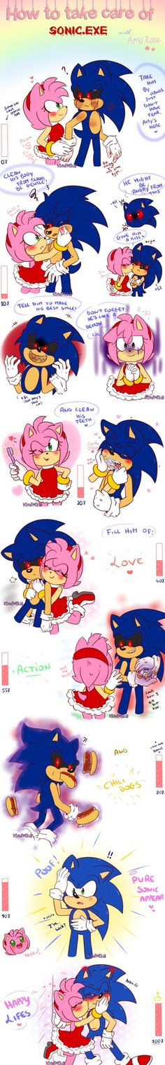 How to take care of Sonic.exe by HimeMikal