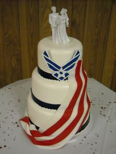 1000 images about air force wedding on pinterest air for Air force cakes decoration