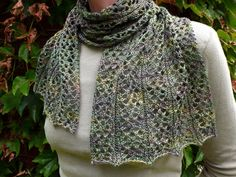 NobleKnits.com - Knitspot Tudor Grace Scarf Knitting Pattern, $6.95…