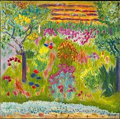 Garden Pierre Bonnard (French, Fontenay-aux-Roses 1867–1947 Le Cannet)