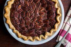Recipe: Chocolate pecan pie. Photo: Andrew Scrivani for The New York Times