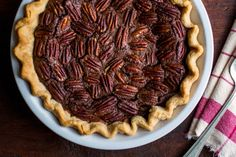 Recipe: Chocolate pecan pie. Photo: Andrew Scrivani for The New York Times