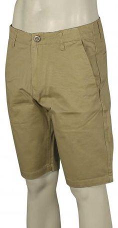 Volcom Faceted Walk Shorts - Drill Khaki