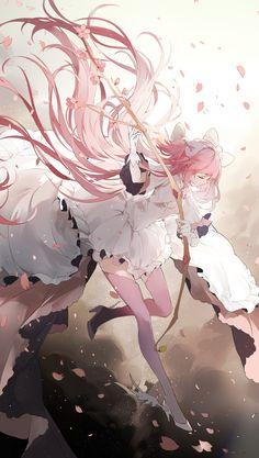 mahou shoujo madoka magica Part 36 - - Anime Image Anime Chibi, Manga Anime, Read Anime, Fan Art Anime, Anime Artwork, Anime Art Girl, Manga Girl, Anime Girls, Madoka Magica