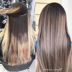 28 Top Blonde Ombre Hair Color Ideas for 2019 - Style My Hairs Brown Hair Shades, Light Brown Hair, Brown Hair Colors, Dark Hair, Cheveux Beiges, Hair Color And Cut, Hair Colour, Pinterest Hair, Hair Pictures