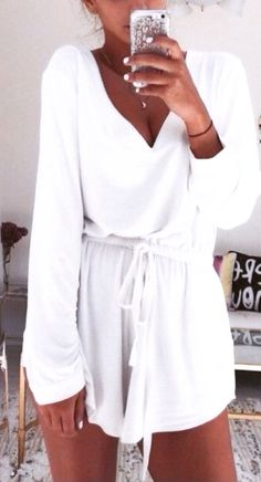 e4a12cc663 Comfy rompers make awesome casual summer outfits!