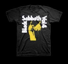 6. Black Sabbath T-Shirt