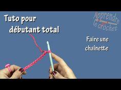 Crochet pour débutant (video 1) tutoriel simple, facile et rapide. - YouTube