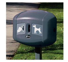 Dispensador Retriever de bolsas para fecas de perro, fijable en postes o paredes. Outdoor Decor, Home Decor, Carrier Bag Holder, Dog Stroller, Movable Walls, Recycling Bins, Travel Backpack, Parks, Pets