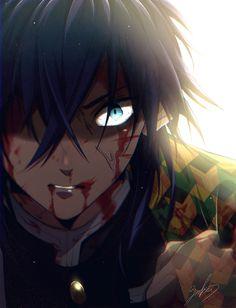 Tomioka Giyuu - Kimetsu no Yaiba - Image - Zerochan Anime Image Board Dark Anime, Demon Slayer, Slayer Anime, Top Anime To Watch, Anime Naruto, Manga Anime, Handsome Anime Guys, Animes Wallpapers, Anime Demon