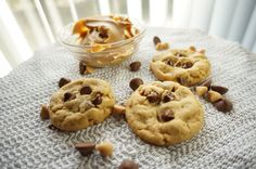 Our Peanut Butter Chocolate Chip Cookies!