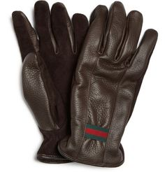 Gucci Cashmere-Lined Gloves - $300