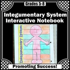 Integumentary System: Your students will enjoy this lift the flap interactive science notebook activity. Students are given strips on which to complete sentences using the word bank.  Students may need to use classroom materials or research online for answers.