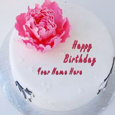 Write your name on cakes. Here you can write names on Birthday Cakes, Anniversary Cakes, Wedding Cakes, Chocolate Cakes and more yummy cakes pictures. You will really enjoy writing your name on Write Name on Birthday Cake picture.