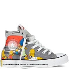 The Simpsons Chuck Taylor All Star #chucks #converse #sneakers