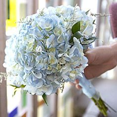 blue and purple hydrangeas with navy blue dresses - Google Search