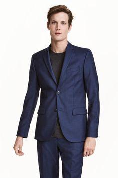 Wool jacket Regular fit Model