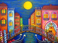 Moonlit Venice