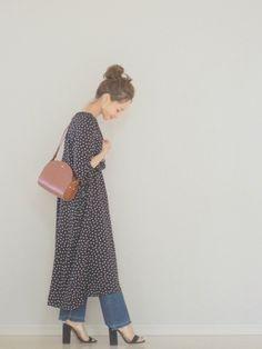 SLOBE IENAのワンピースを使った田中亜希子のコーディネートです。WEARはモデル・俳優・ショップスタッフなどの着こなしをチェックできるファッションコーディネートサイトです。