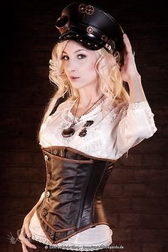 Because I realized that I deleted my steampunk board and promised Laura ideas... :) Diesel Military Steampunk Gypsy.