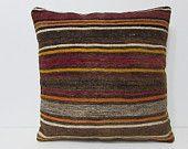 24x24 kilim pillow 24x24 modern throw pillow euro sham bed pillow cover kilim pillow indie pillow case antique pillow case boho pillow 25490