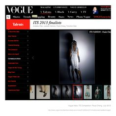 Vogue Italia https://www.facebook.com/PaulaChengDesign