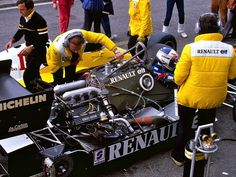 Renault F1 1.5 V6 turbo 70s 80s 1000hp, any retrieval system or other electric motors, only power.