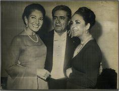 """Calls with Elizabeth Taylor and Giuseppe Di Stefano in 1973  in Hamburg after the soprano's """"come-back"""" recital"""