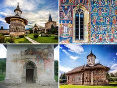Travel to Romanian's wild region of Moldavia, famous for its beautiful Painted Monasteries of Bucovina, a UNESCO World Heritage Site.