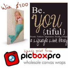 $100 to PicBoxPro Canvas Giveaway on My Mommy Style