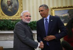 US President Barack Obama called Prime Minister Narendra Modi to express thanks to him for his corporation that improve the connections between India and America. Obama had a talk with Mr. Narendra Modi yesterday to show gratitude to him for 'his partnership' and to appraisal united hard work of collaboration comprising civil nuclear energy and defence and also improved people to people knots, a state formally of the telephonic discussion between the two leaders said.