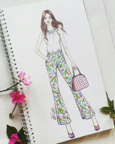 #fashion #illustration #print