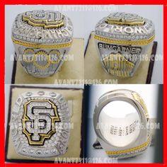#Byer 2014 San Francisco championship ring World Series Rings, Championship Rings, Team Names, Napkin Rings, Band Rings, San Francisco, Jewelry, Jewlery, Jewerly