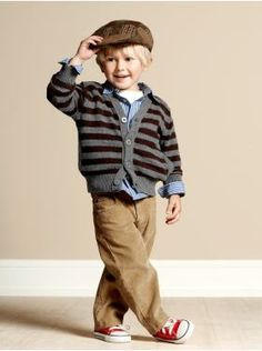 Adorable casual boy's outfit.