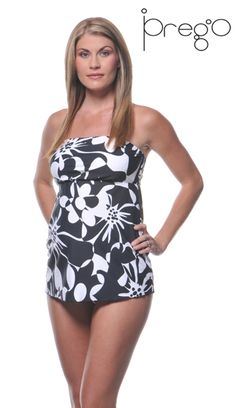 As far as pregnancy goes, this maternity bathing suit is cute.