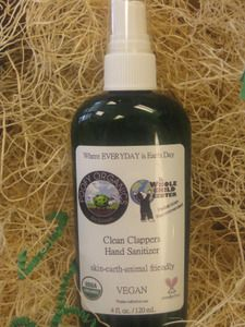 *Poofy Organics* Clean Clappers Hand Sanitizer