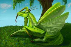 Mantis by Rain-shade on DeviantArt