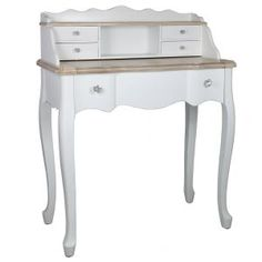 Country Cottage Dressing Table in White