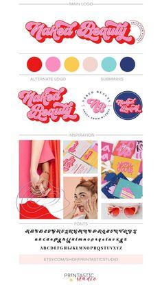 Branding Your Business, Branding Kit, Business Card Design, Branding Design, Artist Branding, Best Logo Design, Creative Business, Logo Foto, Makeup Artist Logo