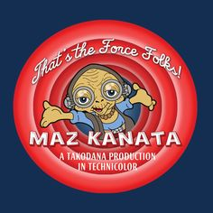 TopNotchy Thats the Force Folks Maz Kanata Star Wars Looney Tunes Maz Kanata, Pirate Queen, Thats All Folks, Cloud City, Last Jedi, Looney Tunes, Funny Posts, Star Wars, Stars