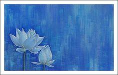 Buy Lotus Acrylic Painting