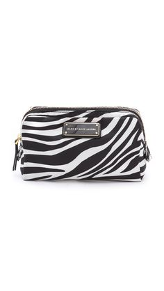 5cbe266548d8 Marc by Marc Jacobs Zebra Nylon Cosmetic Bag Cos Bags