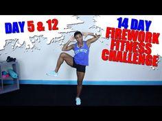 DAY 5 & 12   Firework Fitness Challenge   Intense Cardio   - YouTube
