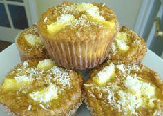 Pineapple-Coconut Muffins (GF) - The Nourishing Home
