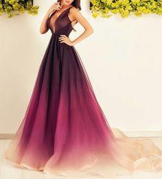 Elegant wine red shady dress....